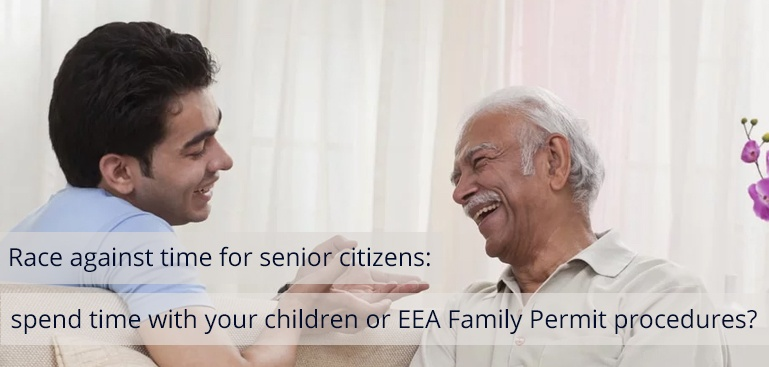 Spend Time with Your Children or EEA Family Permit Procedures