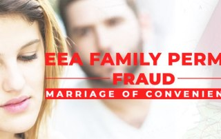 EEA Family Permit Fraud: Marriage of Convenience