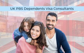UK Visa consultants in Mumbai explain the PBS Dependents Visa