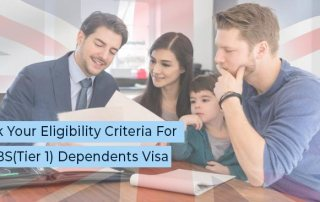 Visa consultants in Bangalore for UK PBS Dependents Visas