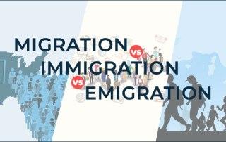 Immigration, Emigration and Migration