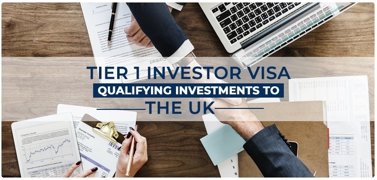 Tier 1 Investor Visa Qualifying Investments to the UK