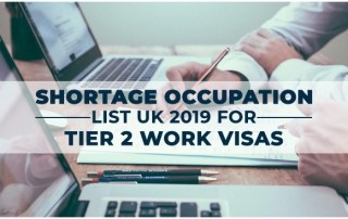 Shortage Occupation List of UK, 2019