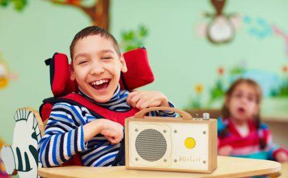 MP3-Player für Menschen mit Behinderung