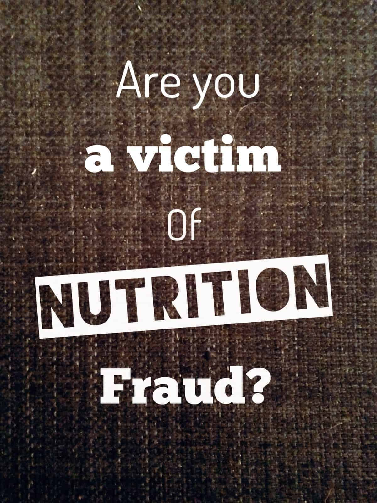 Image result for nutrition fraud