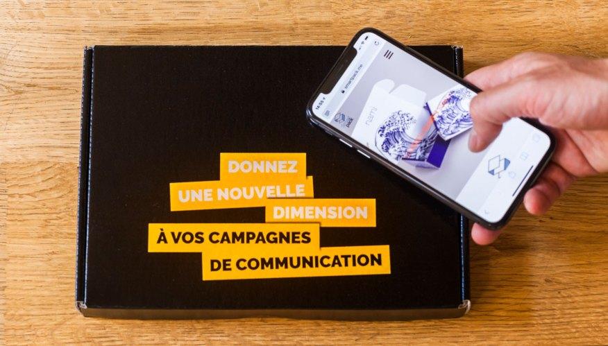Emballages et box connectés NFC