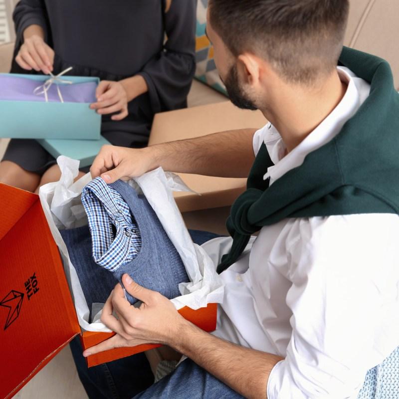 Unboxing emballage expérience client