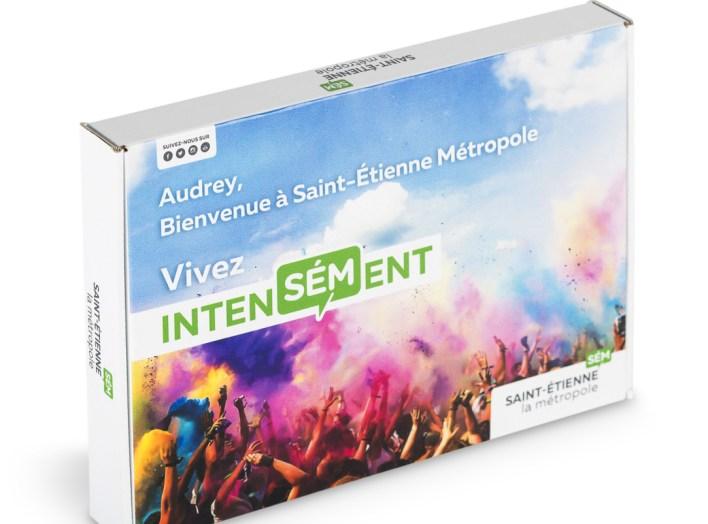 welcome box Saint Etienne box adressée