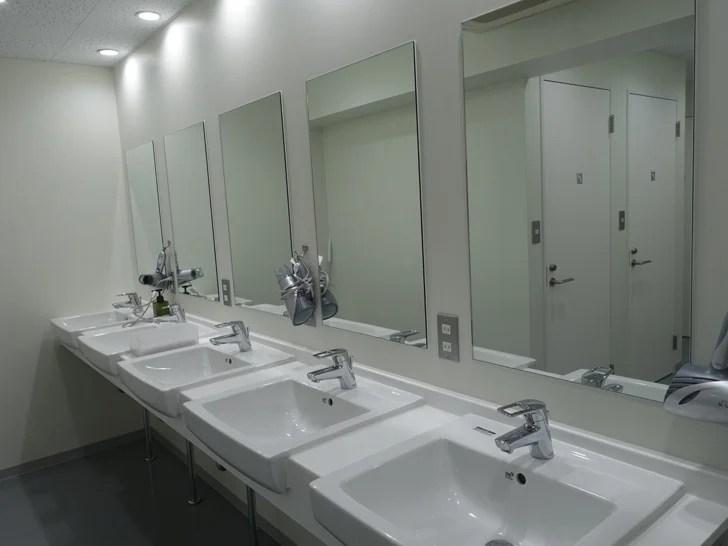 6階にあるシャワールームの写真