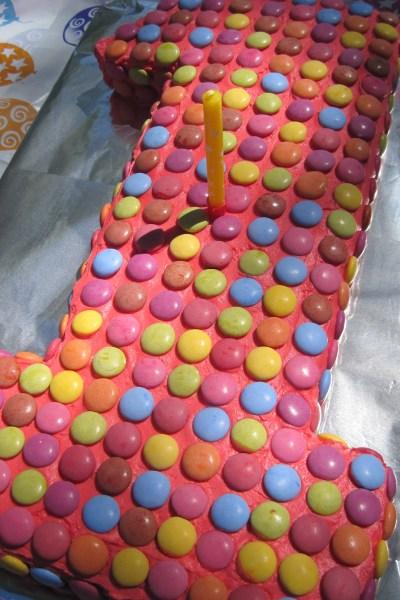 Smarties Cake
