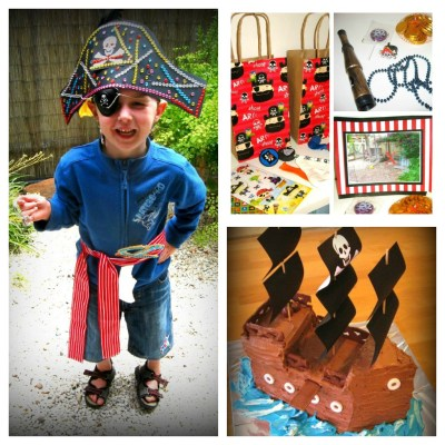 Pirate Themed 4th Birthday Party