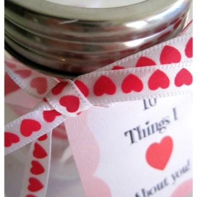 Valentines Day Love Jar