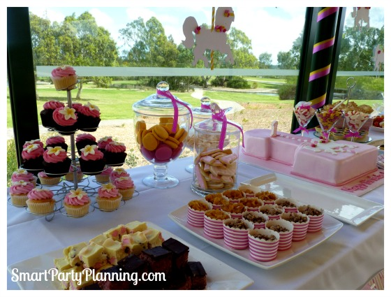 Carousel birthday party food