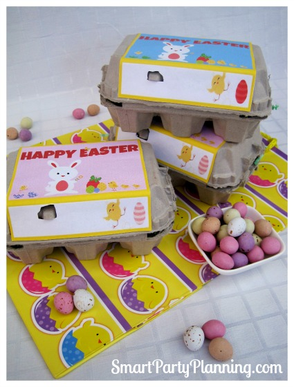 Egg Carton Easter Printables