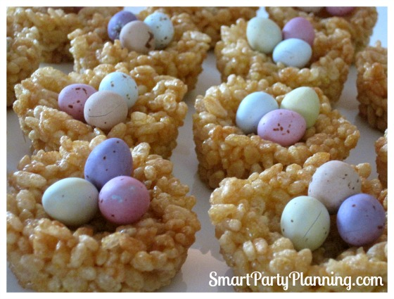 Cute Easter Desserts: Honey Joys