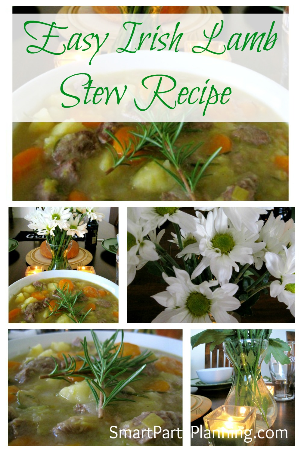 A delicious Irish Lamb stew recipe which is the perfect meal to serve on St Patrick's day. An easy, delicious and budget friendly meal.