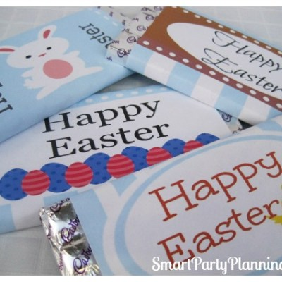 Easter Printables For Chocolate Bars