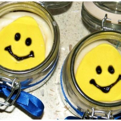 Bananas In Pyjamas Cupcakes (Cupcake In a Jar)