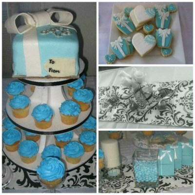 Tiffany Themed Party For A Baby Shower