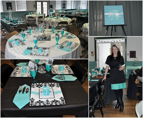 Tiffany Themed Party Ideas