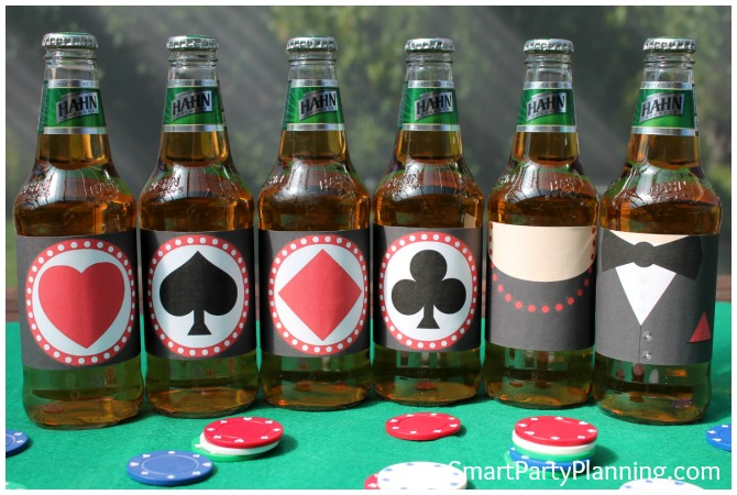 Casino Beer Labels