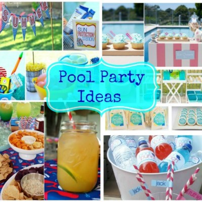 Pool Party Ideas – Weekly Roundup