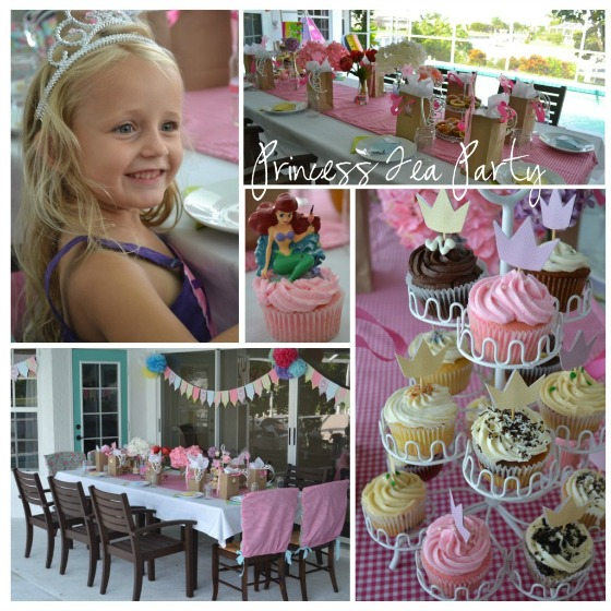 Princess Party Ideas: Princess Tea Party