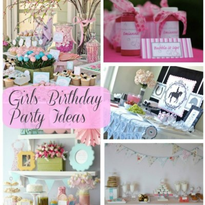 Girls Birthday Party Ideas – Weekly Roundup