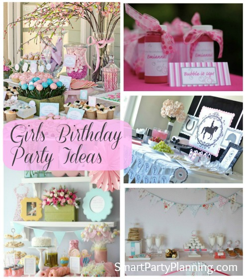 Girls Birthday Party Ideas Weekly Roundup