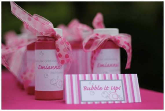 Girls Birthday Party Ideas Bubbles Party