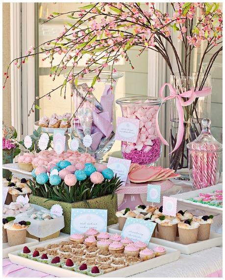 Girls Birthday Party Ideas Flower Garden