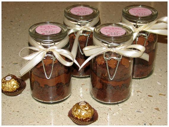Gourmet cupcakes Nutella and Ferrero Rocher