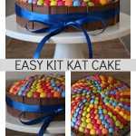 Easy Kit Kat Cake