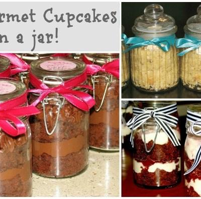 Gourmet Cupcakes In A Jar