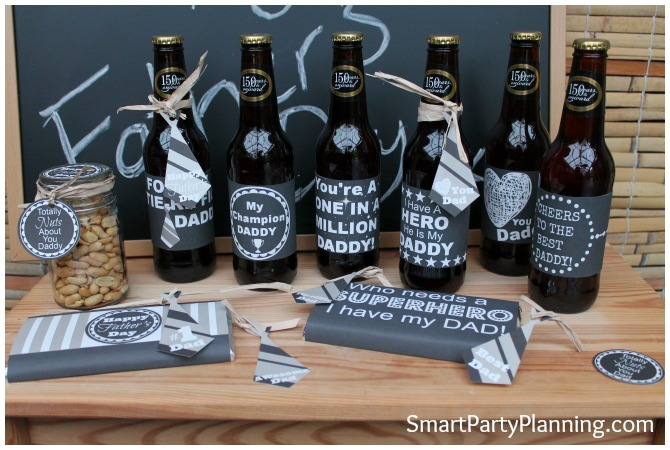 Fathers Day Printables - Chalkboard range