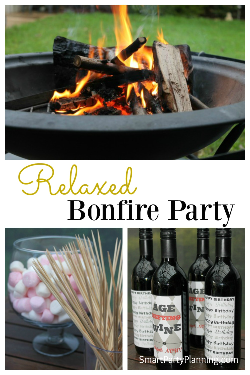 A bonfire party us an awesome relaxed party to hold with a group of friends. It's easy to organize, incredibly cheap and is great for those who love the outdoors.