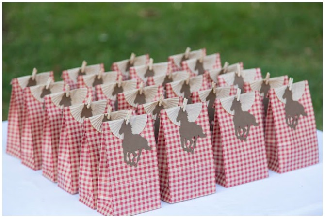 Cowgirl Party Favors