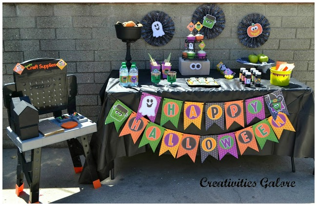 Halloween crafts for kids party