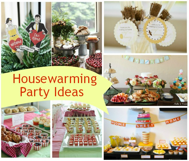 Housewarming party ideas for Housewarming food ideas