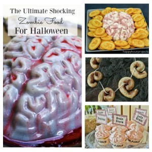 Ultimate shocking zombie food