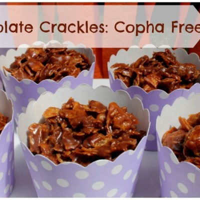 Chocolate Crackles – Copha Free!