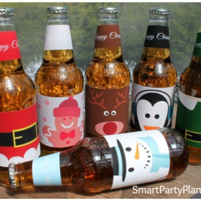 Make The Perfect Gift With Easy Christmas Beer Labels