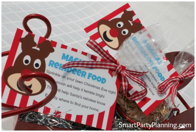 Magic Reindeer Food Sachets