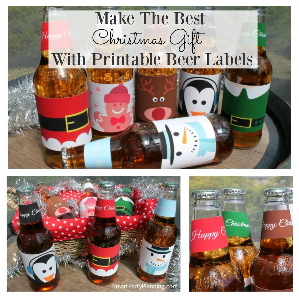 Christmas Beer Labels