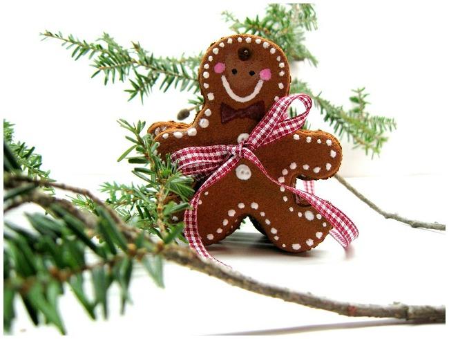 DIY Gingerbread Man Ornament