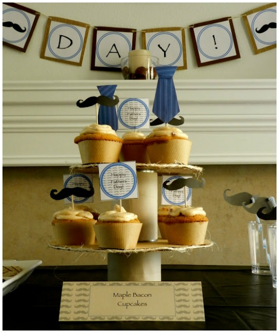Mustache Party Ideas Cupcakes