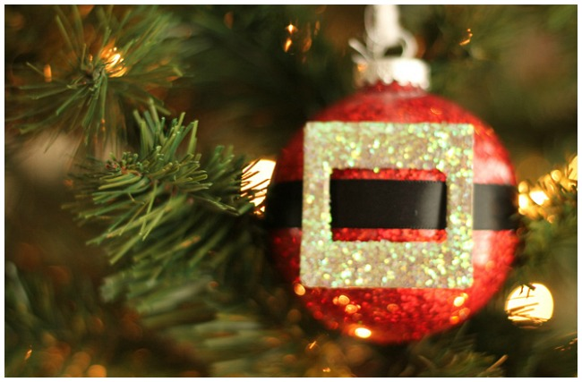 DIY Santa Christmas Bauble