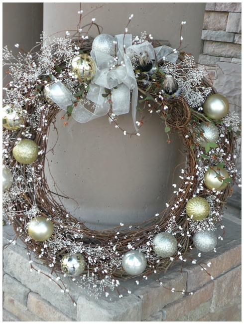 Winterwonderland Christmas wreath