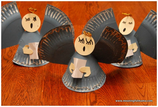 Angel Christmas Crafts For Kids