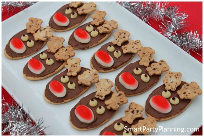 Plate of Reindeer Cookies